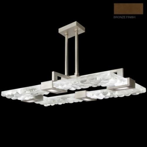 Fine Art Lamps 819240-34ST Crystal Bakehouse Four-Light Pendant in ...