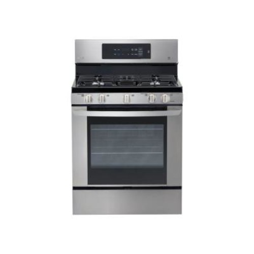 LG Electronics 5.4 cu. ft. Gas Range with EasyClean in Stainless Steel