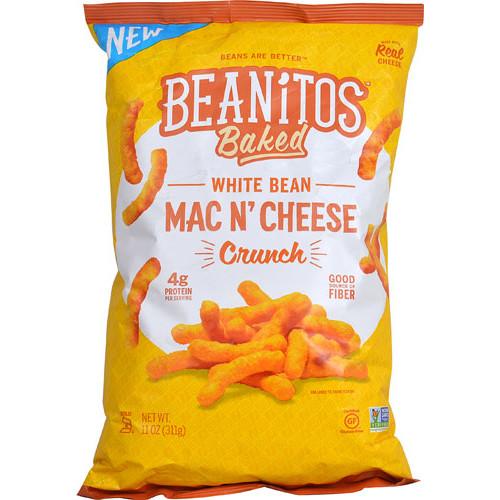 Beanitos White Bean Mac N' Cheese Crunch Snack -- 11 oz