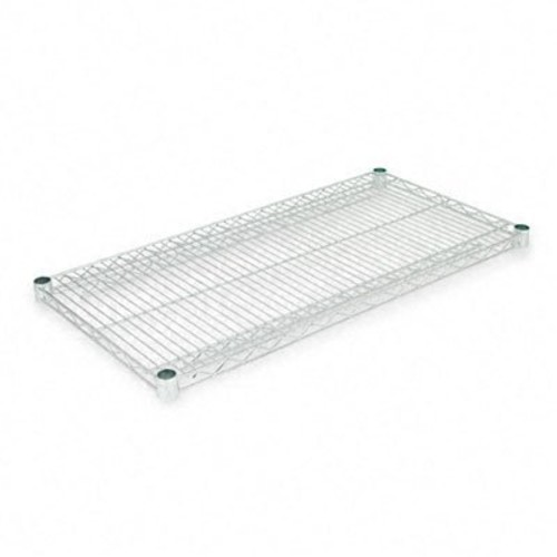 Alera SW583618SR Industrial Wire Shelving Extra Wire Shelves, 36w x 18d, Silver (Case of 2 Shelves)