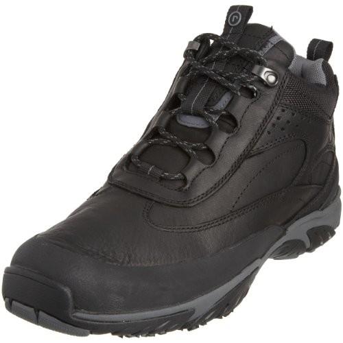 Rockport Men's Gakona Black Hiking Boot, 10 E (W)