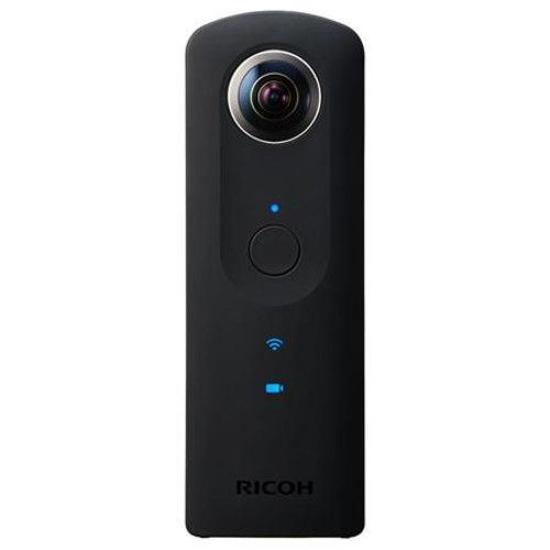 Ricoh Theta S 360 Degree Spherical Panorama Camera Black With TH-2 Case
