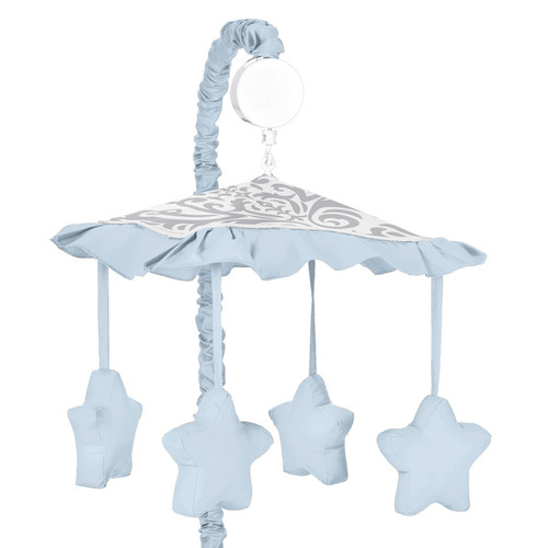 Sweet Jojo Designs Avery Musical Crib Mobile