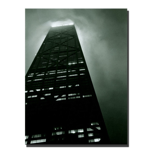 Trademark Global Michelle Calkins 'Hancock' Canvas Art [Overall Dimensions : 35x47]