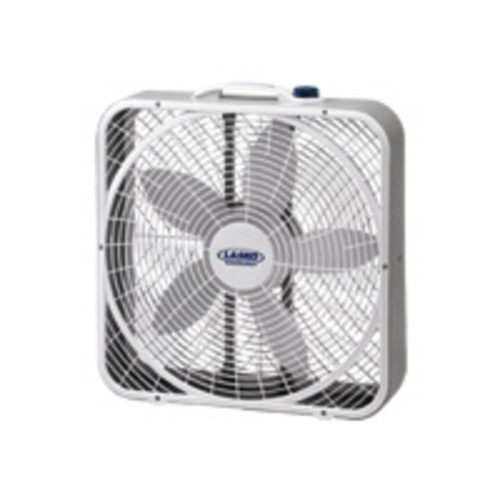 Lasko Products Lasko 3720 Premium Weather-Shield Box Fan - 508mm Diameter - White