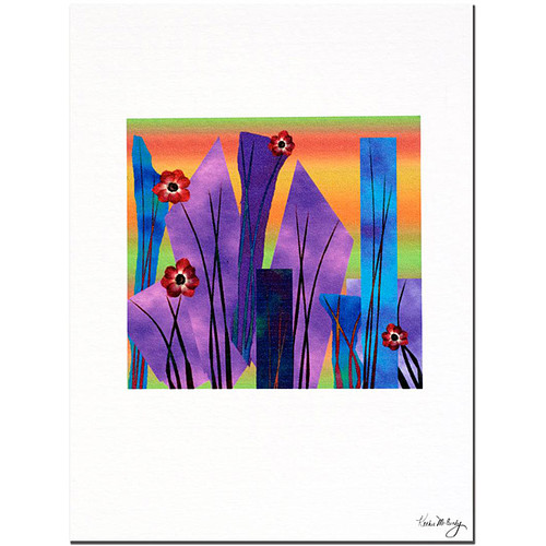 Kathie McCurdy 'Neon Lights' Gallery-wrapped Canvas