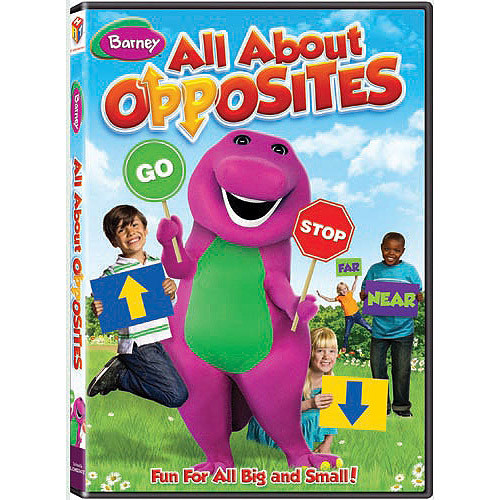 Barney: All About Opposites [DVD]