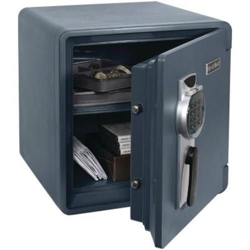 First Alert 1.31-Cubic-Foot Waterproof Fire Safe with Digital Lock, Slate (2092DF)