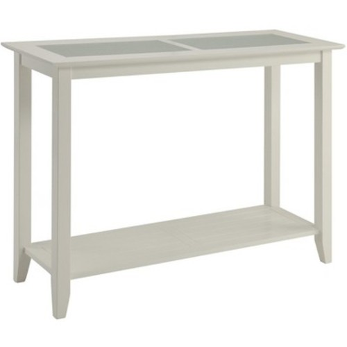 Carmel Console Table - White (Medium) - Convenience Concepts