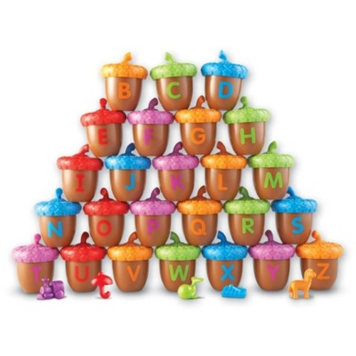 Learning Resources Alphabet Acorns Activity Set - 78 Pieces