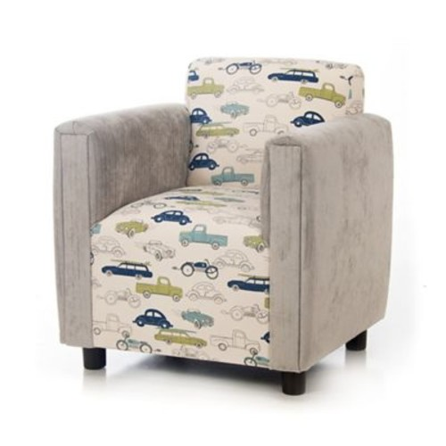 Glenna Jean Uptown Traffic Upholstered Child's Chair