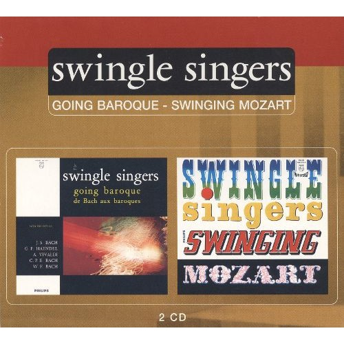 Going Baroque/Swinging Mozart [CD]