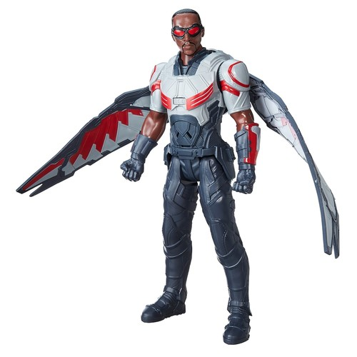 Marvel Avengers Civil War Captain America Titan Hero Series 12 inch Action Figure - Marvel's Falcon