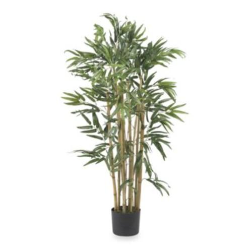 Nearly Natural 3' Multi-Bambusa Bamboo Silk Tree