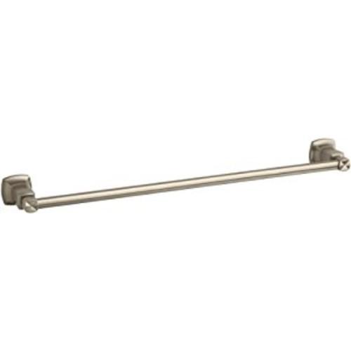 Kohler K-16251-BV Margaux 24-Inch Towel Bar, Vibrant Brushed Bronze [Vibrant Brushed Bronze]