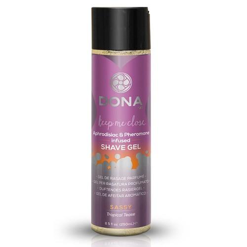 Dona Shave Gel Sassy Aroma Tropical Tease 8 oz