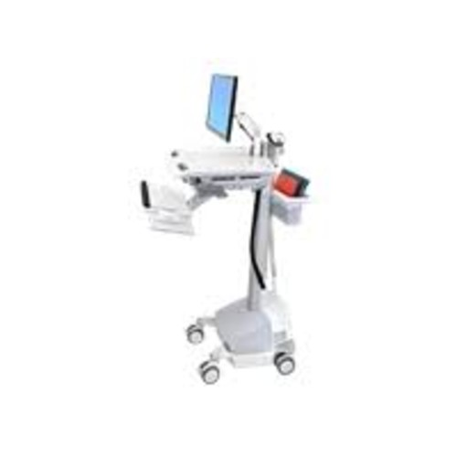 Ergotron StyleView - EMR Cart with LCD Arm, SLA Powered - Cart for LCD display / keyboard / mouse / bar code scanner / CPU