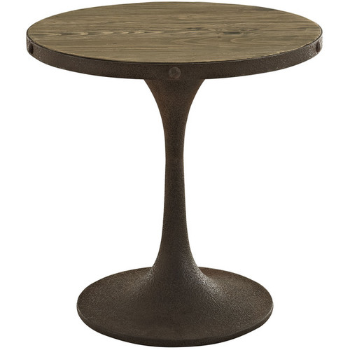 Modway Coffee, Console, Sofa & End Tables Drive Wood Top Side Table