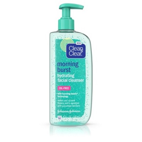 Clean & Clear Morning Burst Hydrating Facial Cleanser - 8 fl oz