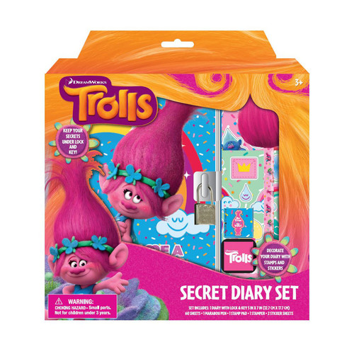 DreamWorks Trolls Secret Diary Set