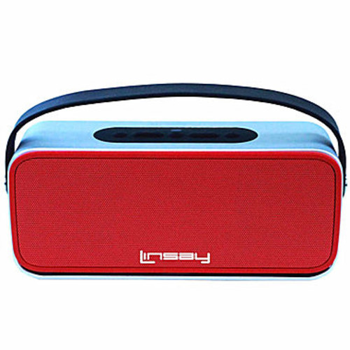 Linsay High-End Red Bluetooth Speaker