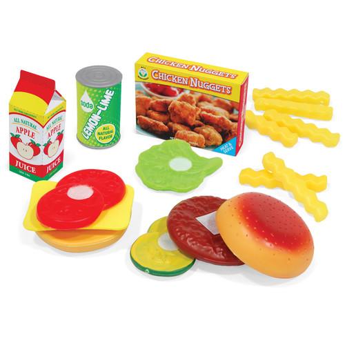 Just Kidz 12-Piece Hamburger Set