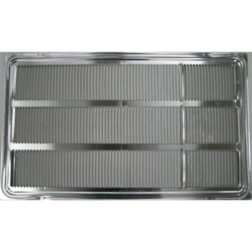 LG Electronics Stamped Aluminum Grille for LG Built-In Air Conditioner