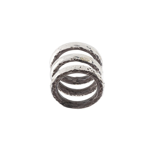 Carved Stacker rings