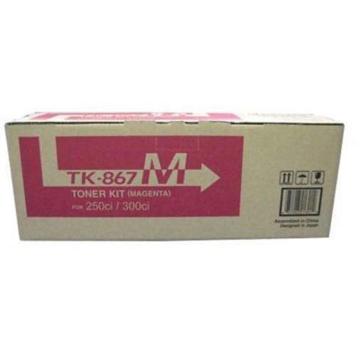 Kyocera TK867M Magenta Toner Cartridge