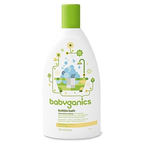 Babyganics 20 oz. Bubble Bath in Chamomile and Verbena