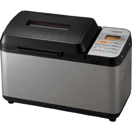 Zojirushi BB-PAC20BA BB-PAC20 Home Bakery Virtuoso Breadmaker with Gluten Free Menu setting [Black/Silver, 2 lb loaf]