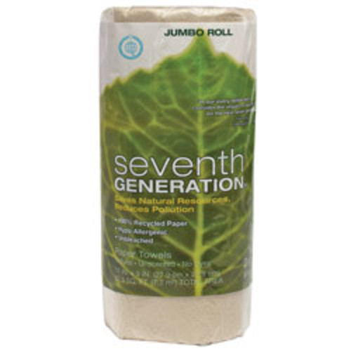 Seventh Generation 100% Recycled 2-Ply Paper Towels, 11