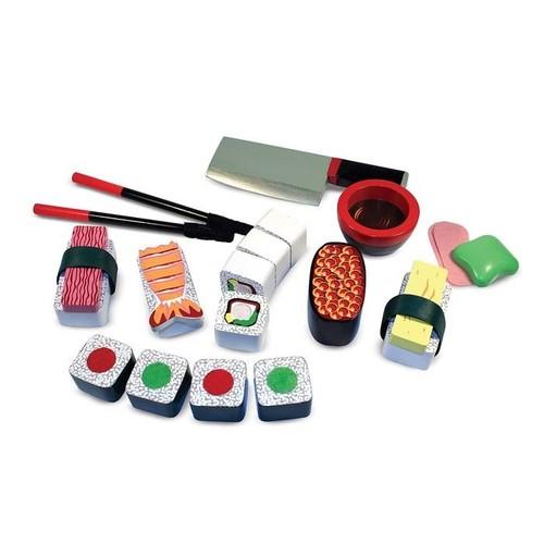 Melissa & Doug Toys - Sushi Slicing Play Set
