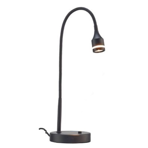 Adesso 3218-01 Prospect LED Table Lamp, Black