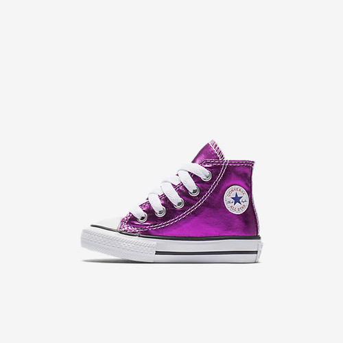 Converse Chuck Taylor All Star Metallic High Top Infant/Toddler Shoe