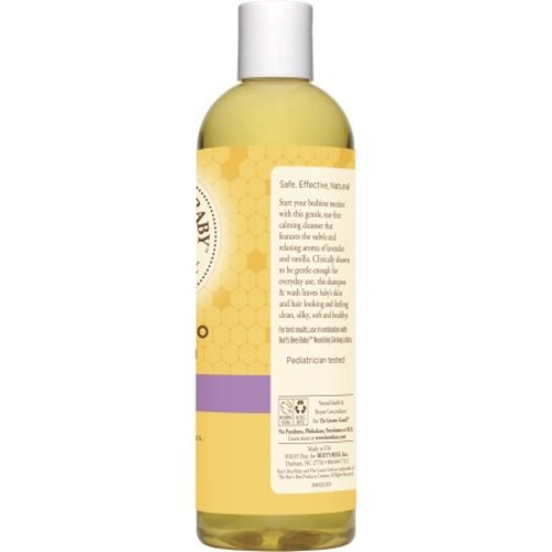 Burt's Bees Baby Bee Shampoo and Wash, Calming, 12 Fluid Ounces