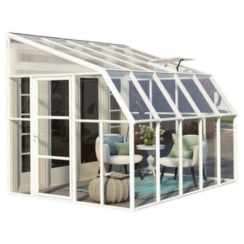8'X10' Sun Room 2 Greenhouse - White - Palram