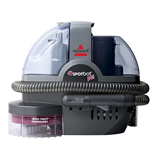 Bissell Spotbot Pet Handsfree Spot and Stain Cleaner with Deep Reach Technology, 33N8A - Corded [Spotbot Only]