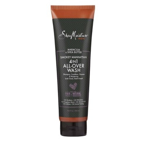 SheaMoisture Men's Smokey Manhattan 4-in-1 All-Over Wash - 10.3oz