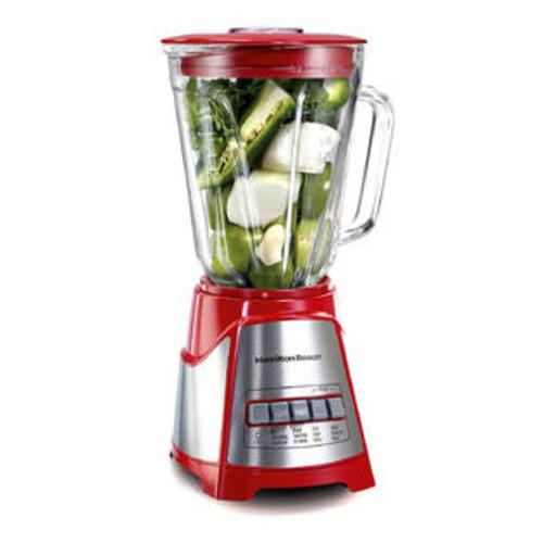 Hamilton Beach Brands Inc. Hamilton Beach Red Ensemble Multi-Function Glass Jar Blender