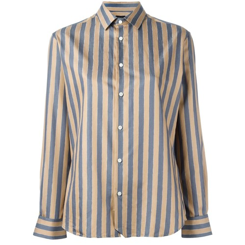 JOSEPH Striped Button Down Shirt
