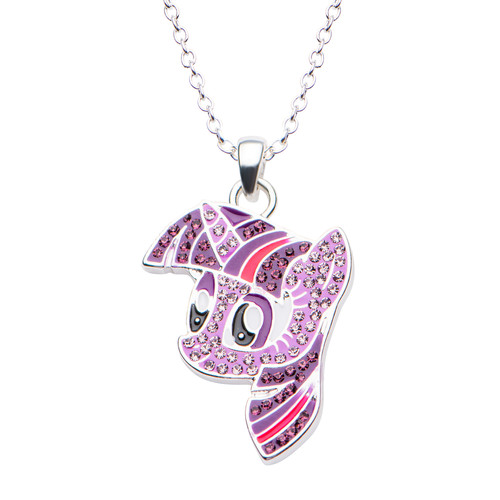 My Little Pony Twilight Sparkle With Gem Necklace