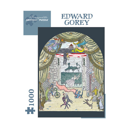 Edward Gorey Untitled Puzzle: 1000 Pcs