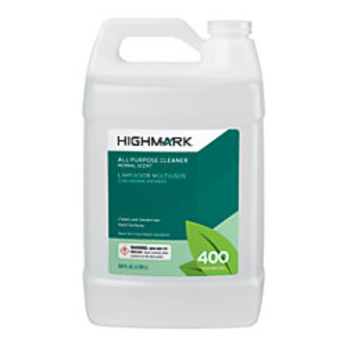Highmark All-Purpose Cleaner, Herbal Scent, 128 Oz