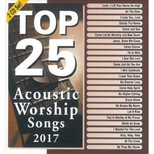 Marantha Music - Top 25 Acoustic Worship Songs 2017 (CD)