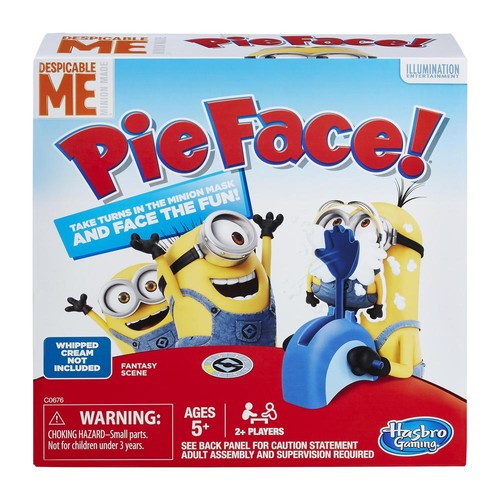 Hasbro - Despicable Me Minion Made Edition Pie Face Game