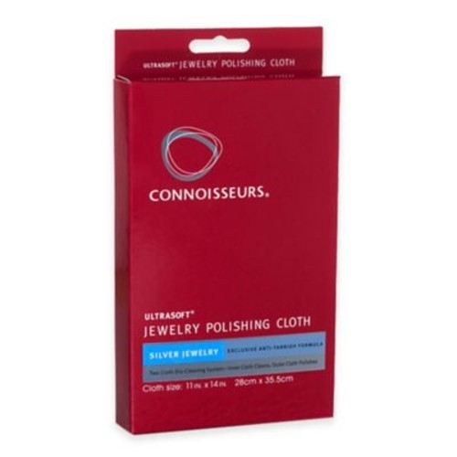 Connoisseurs Silver Jewelry Polishing Cloth Kit