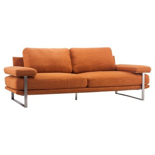 Jonkoping Sofa Orange - Zuo