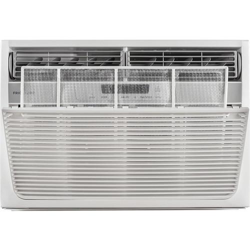 Frigidaire - 8,000 BTU Window Air Conditioner and 3,500 BTU Heater - White