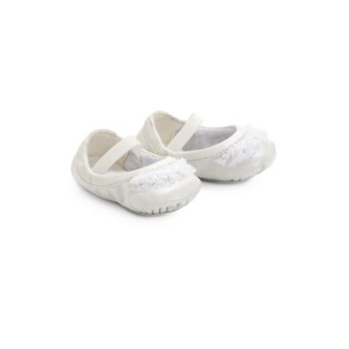 Infant's Baby Chiara Pearlized Leather Ballet Flats